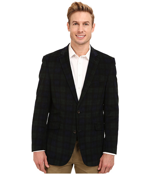 U.S. POLO ASSN. - 16 Wale Corduroy Sport Coat (Blackwatch) Men's Jacket