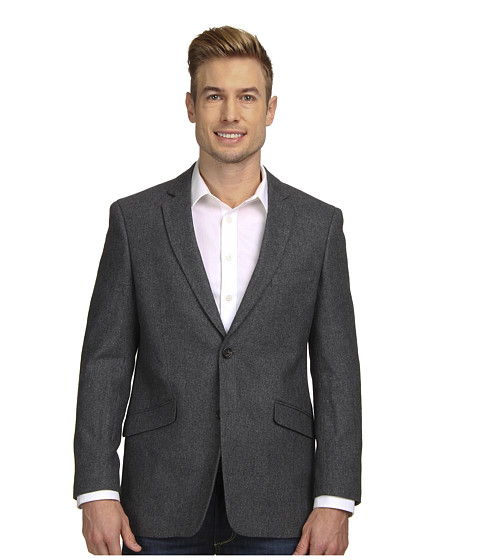 U.S. POLO ASSN. - Solid Wool Blend Sport Coat (Grey) Men's Jacket