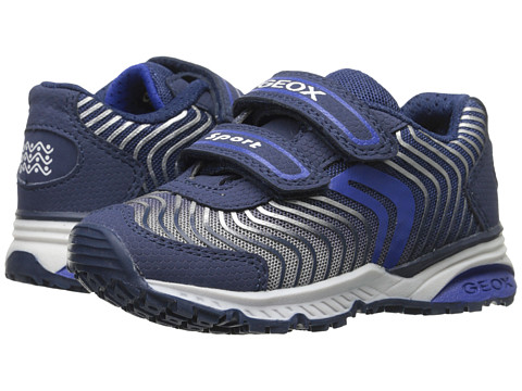Geox Kids - Jr Bernie 4 (Toddler/Little Kid) (Navy/Royal) Boy's Shoes