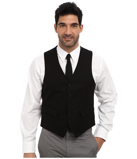 U.S. POLO ASSN. - Cotton Vest (Black) Men's Vest