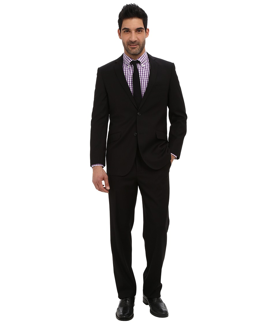 U.S. POLO ASSN. - Solid Suit (Black) Men's Suits Sets