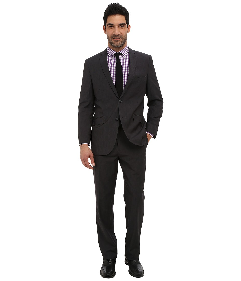 U.S. POLO ASSN. - Micro Shape Solid Suit (Grey) Men's Suits Sets