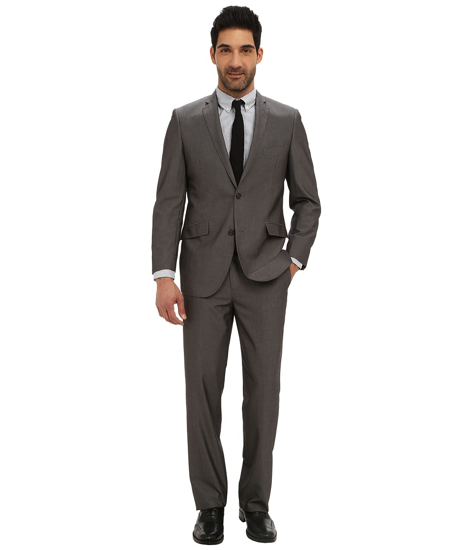 U.S. POLO ASSN. - Micro Tech Solid Suit (Grey) Men's Suits Sets