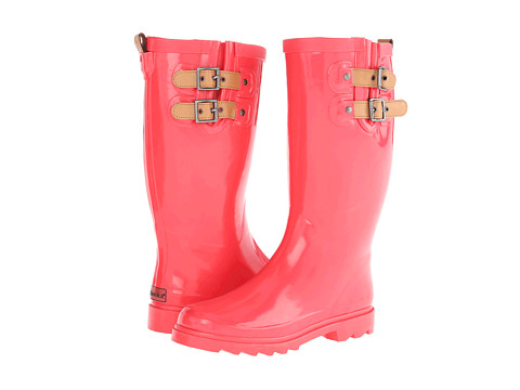 Chooka - Top Solid Rain Boot (Coral) Women's Rain Boots