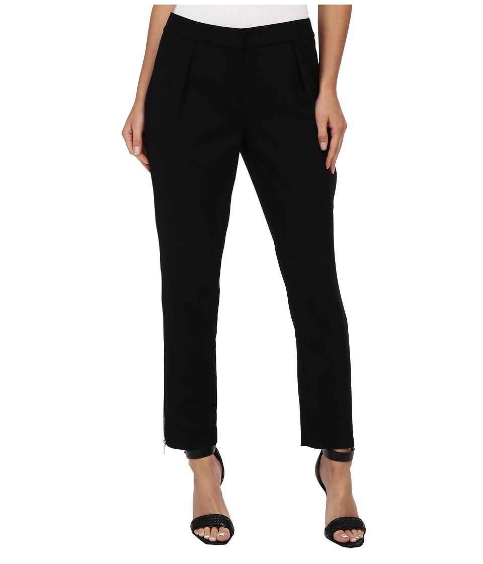 Rachel Zoe - Powell Skinny Zipper Pant (Black) Women's Casual Pants
