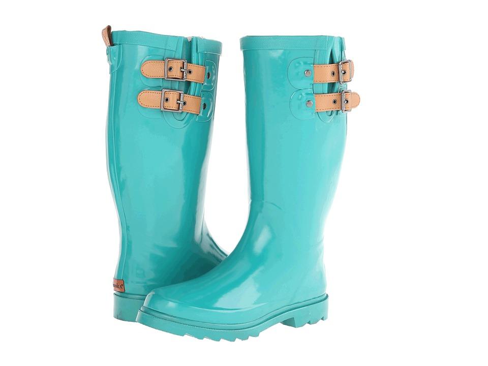 Chooka - Top Solid Rain Boot (Jungle Green) Women