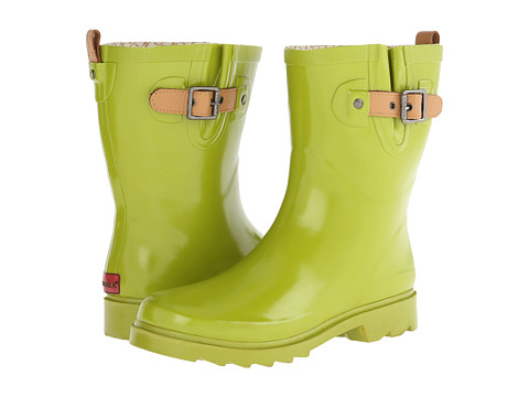 Chooka - Top Solid Mid Rain Boot (Chartreuse) Women's Rain Boots
