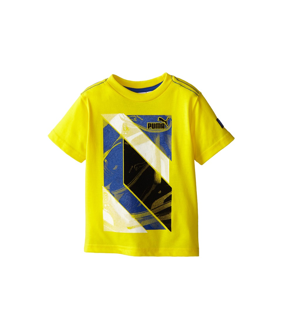 Puma Kids - Abstract Tee (Toddler) (Vibrant Yellow) Boy