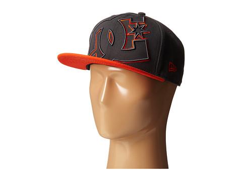 DC - Double Up Hat (Pewter/Orange) Baseball Caps