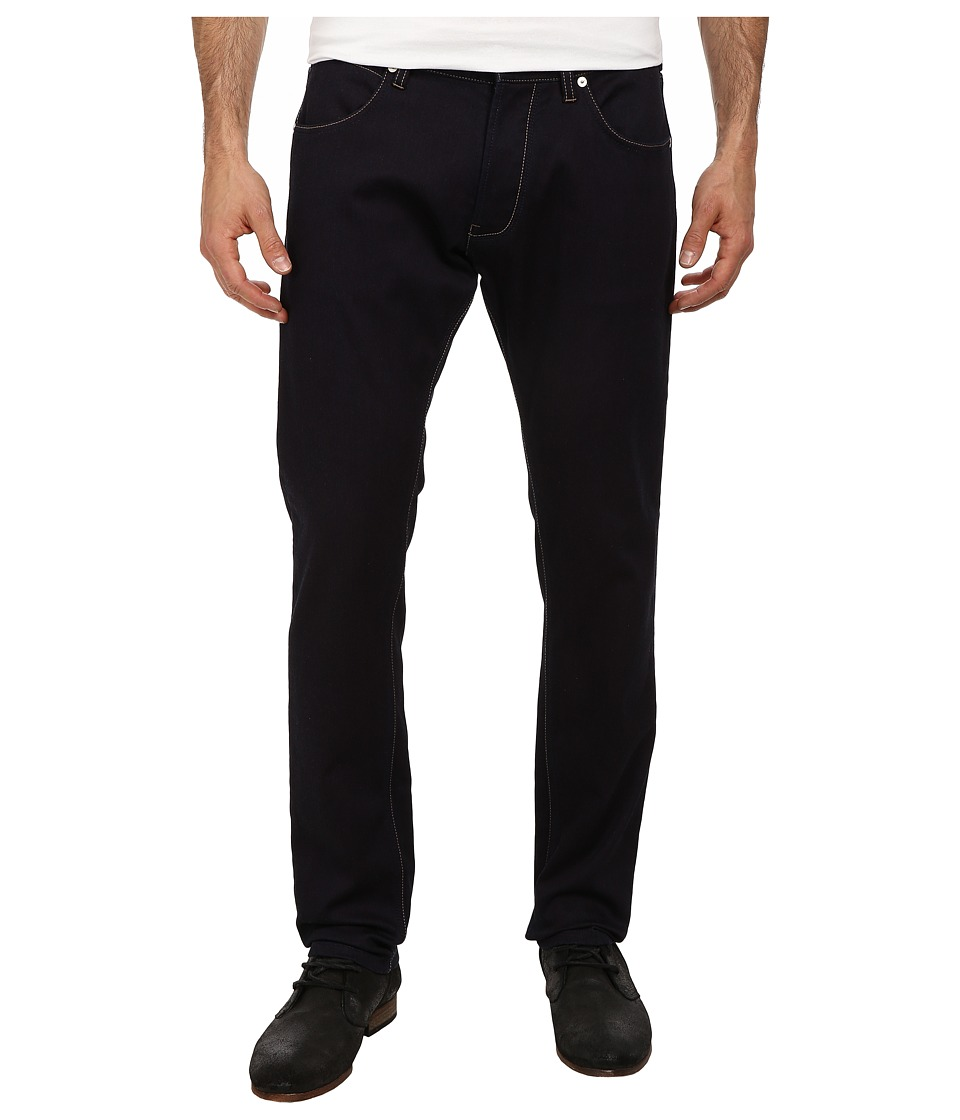 French Connection - Indigo + Sweat Pant (Rinse/Sweat) Men's Casual Pants