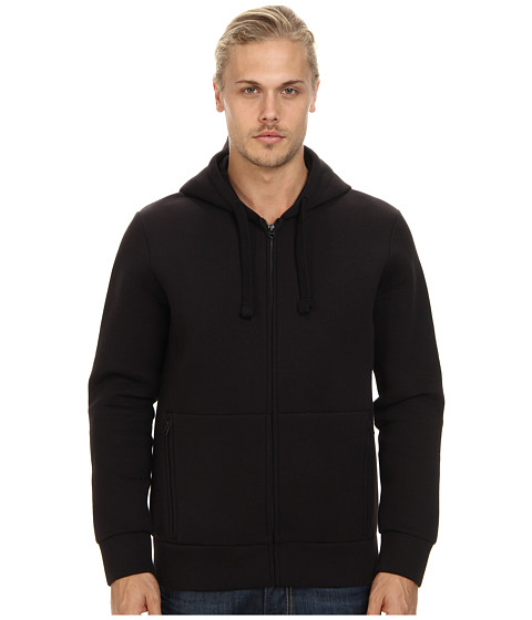 French Connection - Neo Sweat Hoodie (Black) Men's Sweatshirt