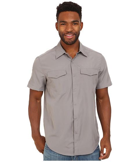 Merrell - Minimax S/S Button Up (Sidewalk) Men's Short Sleeve Button Up