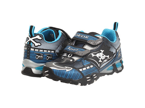 Geox Kids - Jr Light Eclipse 20 (Toddler/Little Kid) (Navy/Silver) Boy