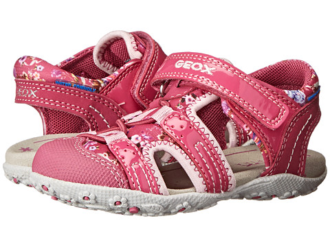 Geox Kids - Baby Roxanne 25 (Toddler) (Fuchsia/Pink) Girl's Shoes