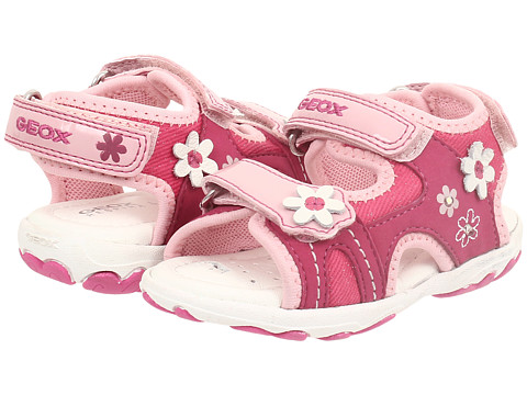 Geox Kids - Baby Sandal Cuore 10 (Toddler) (Fuchsia/ Pink) Girl's Shoes
