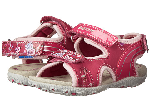 Geox Kids - Baby Roxanne 28 (Toddler) (Fuschia/Pink) Girl's Shoes