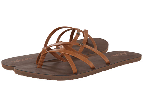 Volcom - New School 2 (Cognac) Women's Sandals