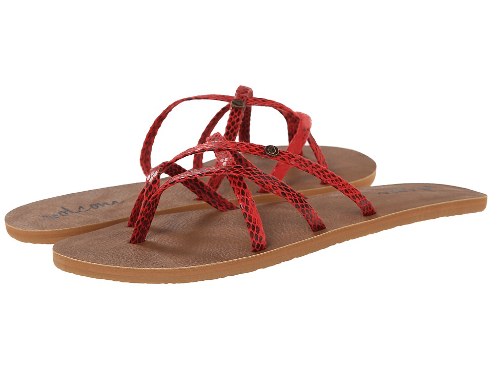 Volcom - New School 2 (Red Rad) Women's Sandals