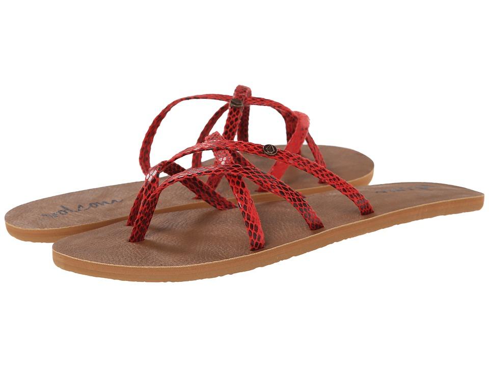 Volcom - New School 2 (Red Rad) Women's Sandals