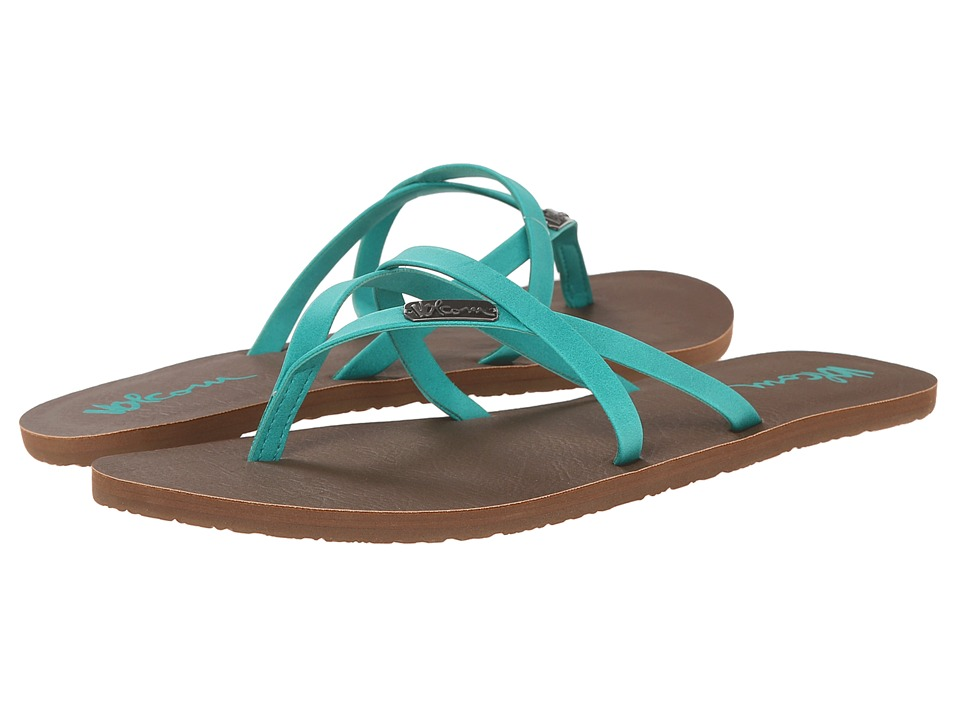 Volcom - All Night Long 2 (Aqua) Women's Sandals