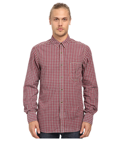 French Connection - Soft As Peach Top (Mini Check) Men's Clothing