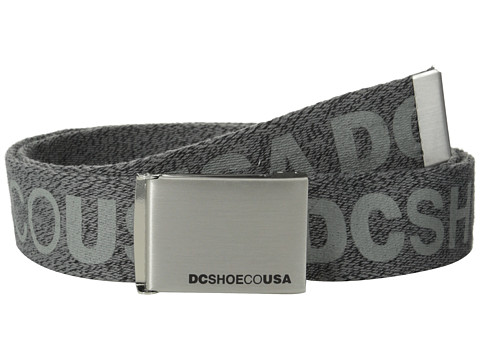 DC - Chinook TX Belt (Black Heather) Men's Belts