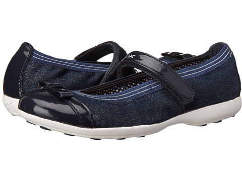 Geox Kids - Jr Jodie 68 (Big Kid) (Navy (Jeans)) Girl's Shoes