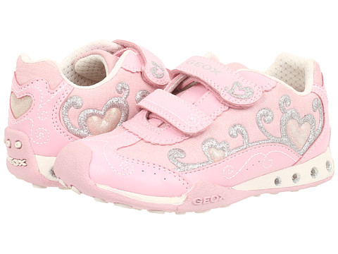 Geox Kids - Jr New Jocker Girl 27 (Toddler/Little Kid) (Pink) Girl's Shoes
