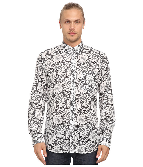 French Connection - Bobbon Printed (White) Men