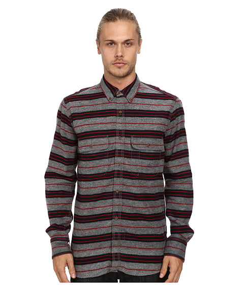 French Connection - Felted Flannel (Stripe) Men