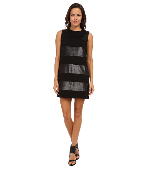 Rachel Zoe - Alessandra Dress (Black/Black) Women's Dress