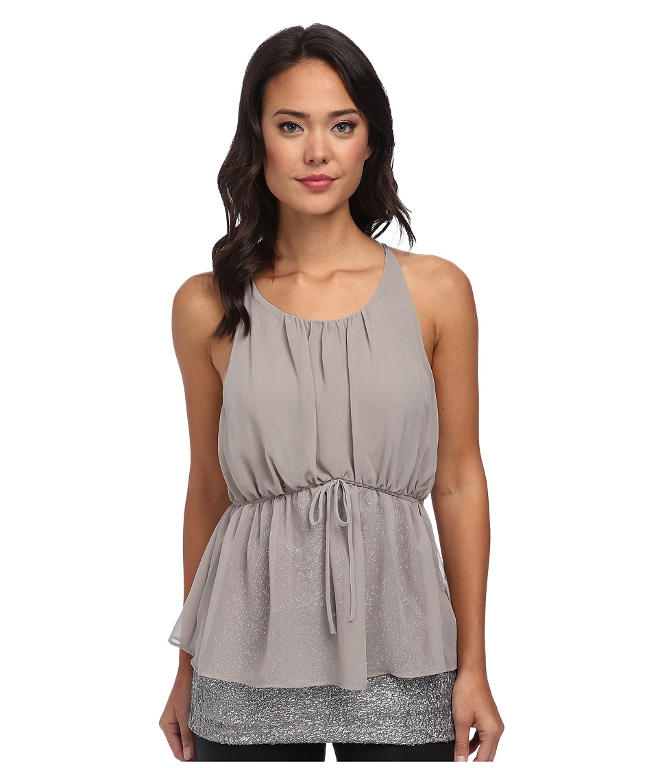 Susana Monaco - Sleeveless Top (Slate) Women's Sleeveless