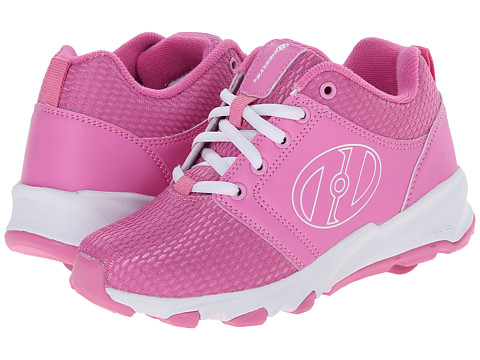 Heelys - Hightail (Little Kid/Big Kid/Adult) (Pink/White) Girl