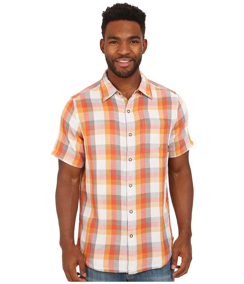 Merrell - Breezeway Reversible Shirt (Manganese) Men's Short Sleeve Button Up