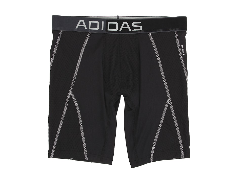 adidas - climacool Mesh Midway (Black/Light Onix) Men's Underwear