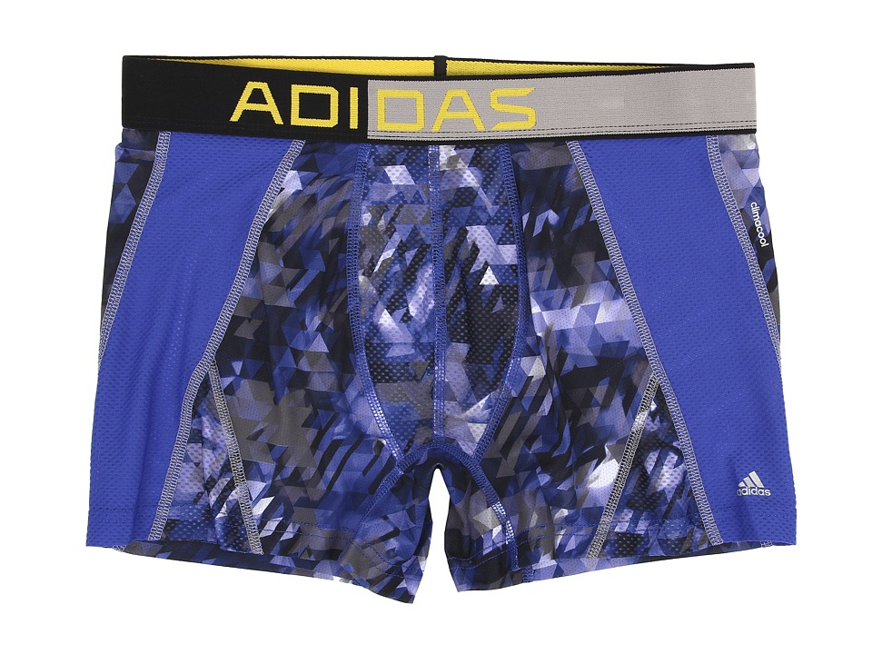 adidas climacool Mesh Graphic Trunk (Energy Camo Bold Blue/Tech Grey) Men