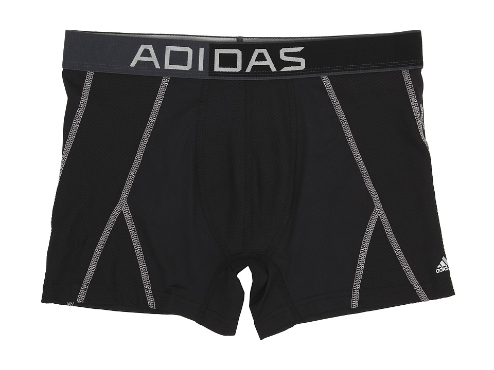 adidas - climacool Mesh Trunk (Black/Thunder/Light Onix) Men's Underwear
