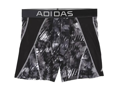 adidas - climacool Mesh Graphic Boxer Brief (Energy Camo Black/White) Men