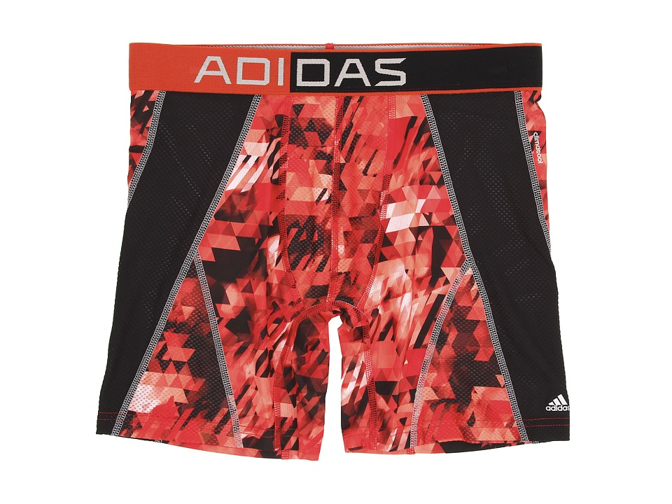 adidas - climacool Mesh Graphic Boxer Brief (Energy Camo Bright Red/Black) Men's Underwear