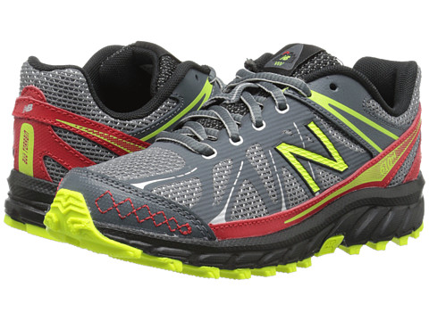 New Balance Kids - 610 (Little Kid/Big Kid) (Grey/Red) Boys Shoes