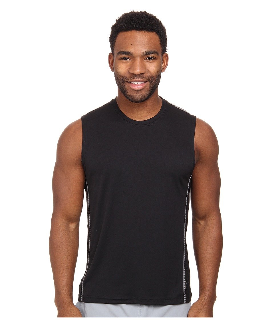 adidas - climacool Mesh Muscle (Black/Light Onix) Men's Sleeveless