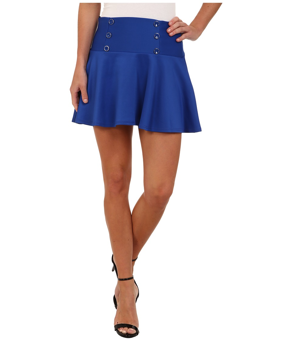 Gabriella Rocha - Halter Skirt (Royal) Women's Skirt