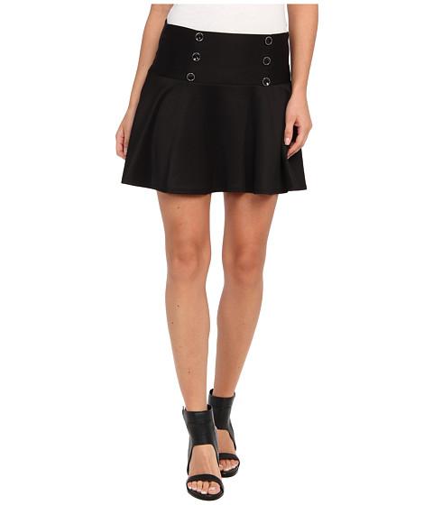 Gabriella Rocha - Halter Skirt (Black) Women's Skirt