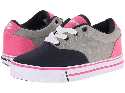 Heelys - Launch (Little Kid/Big Kid/Adult) (Navy/Grey/Pink) Girls Shoes