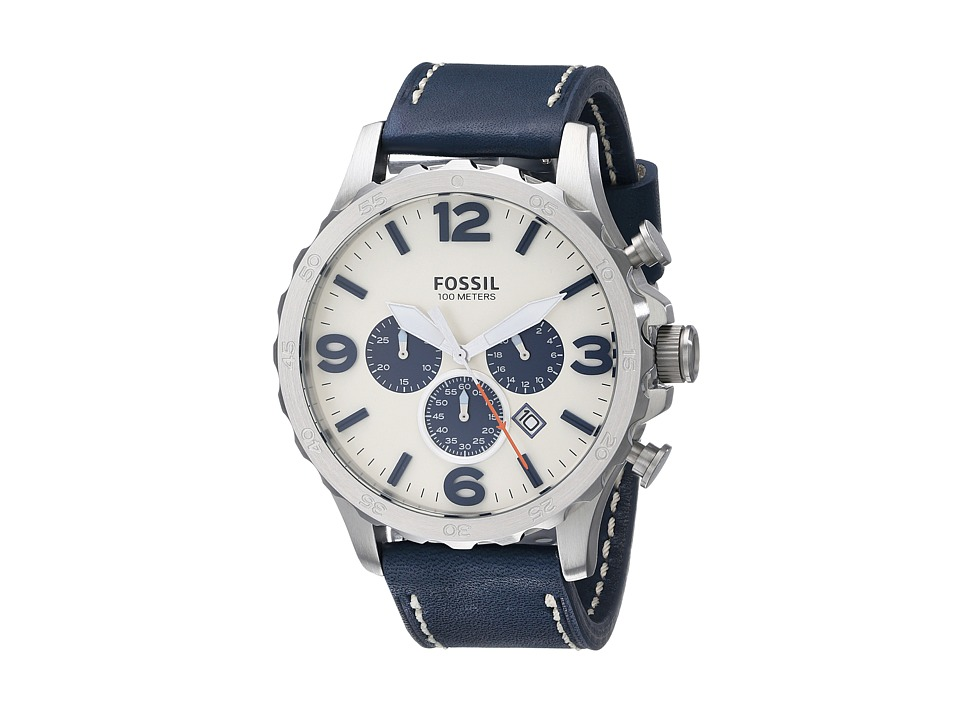 Fossil - Nate - JR1457 (Navy) Watches