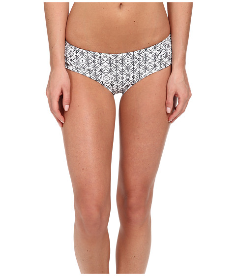 O'Neill - Journey Retro Hipster Bottom (White) Women's Swimwear