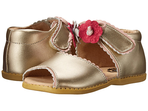 Livie & Luca - Merry Bell (Toddler/Little Kid) (Gold Metallic) Girls Shoes