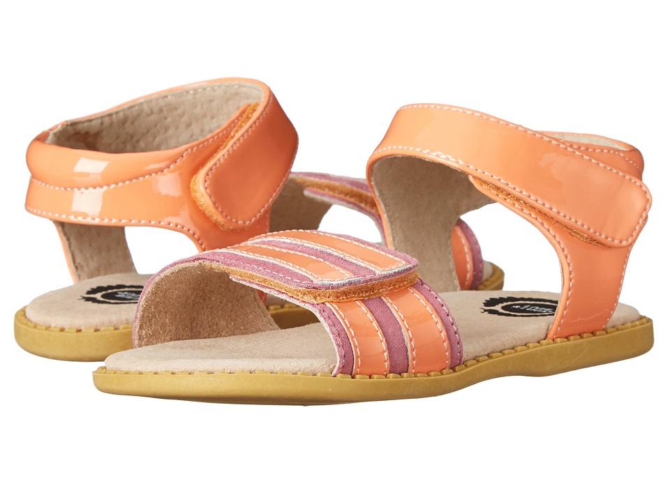 Livie & Luca - Taffy (Toddler) (Peach) Girls Shoes