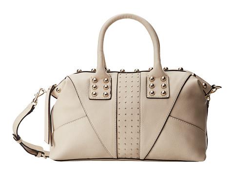 GUESS Journey Chelsea Satchel (Milk) Satchel Handbags
