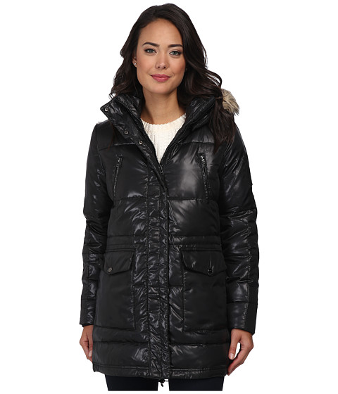 LAUREN by Ralph Lauren - Cire Anorak Down (Black) Women